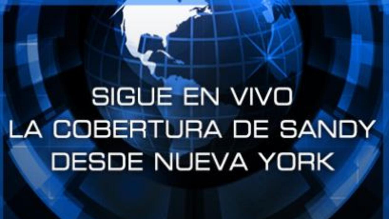 Siga la cobertura de Sandy en vivo, con Noticias 41 Nueva York.