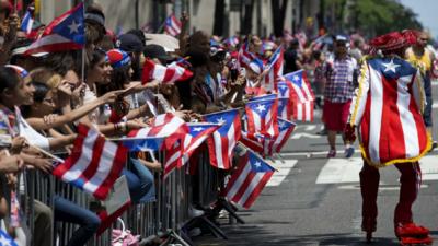 58 edición del Desfile Puertorriqueño en NY.