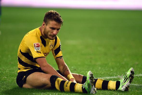 El italiano Ciro Immobile, jugador del Bosrussia Dortmund, es otro de lo...
