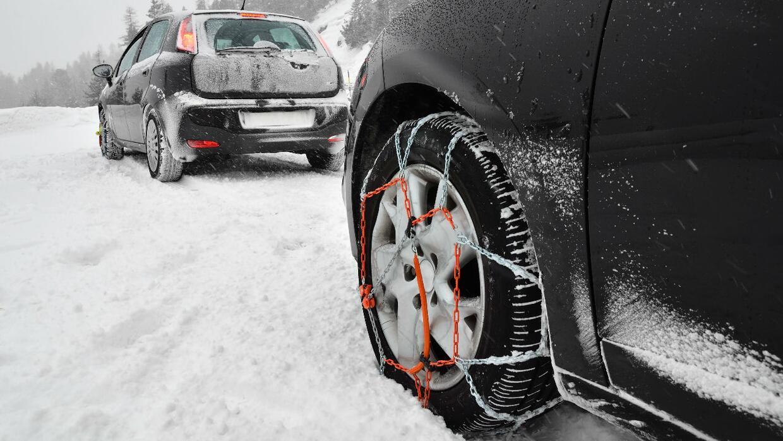 cadenas para manejo en nieve