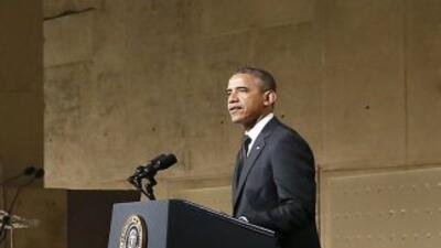 El presidente de Estados Unidos, Barack Obama, inaugura el Museo de la M...