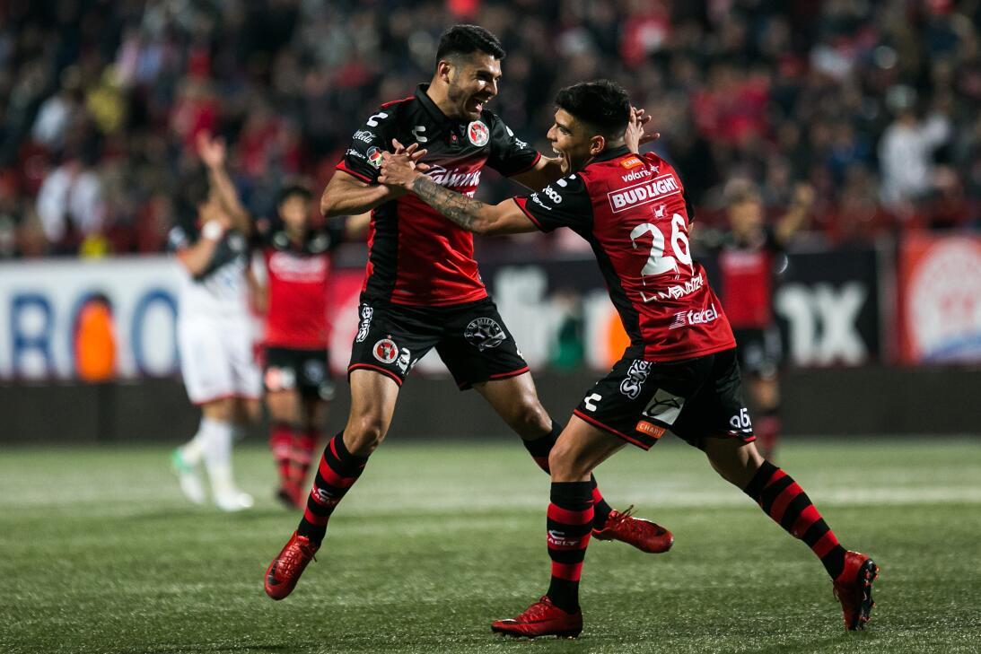 Xolos 3-1 Lobos: Luis Mendoza, Miller Bolaños y José García le dieron el...