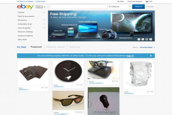 7. eBay Inc.  Sector de la industria: Comercio electrónico.  Ejemplos de...