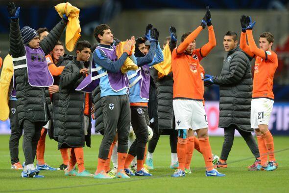 Triunfo final de 3-1 para Monterrey, que de este modo ganó su acc...