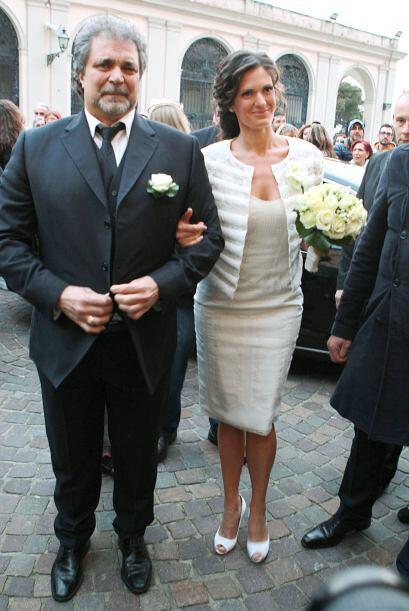El festejo tuvo lugar en el monasterio de Monte Nero cerca de Livorno, e...