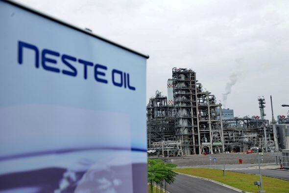 NESTE OIL- La compañía petrolera finlandesa Neste Oil aume...
