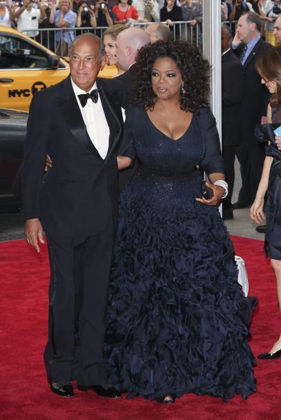 Siempre recordaremos lo bella que lució  Oprah Winfrey  en la Gal...