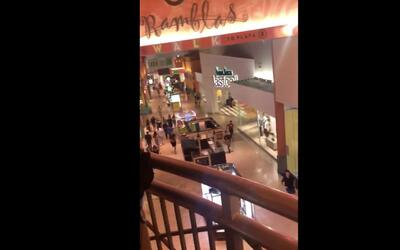 "Video desde el interior del Dolphin Mall: ""¿Están disparando? Yo oigo ti..."