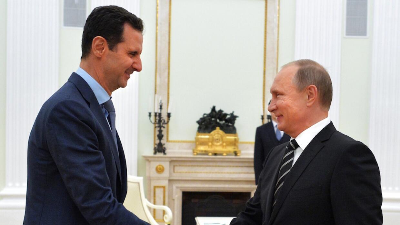 Al-Assad y Putin