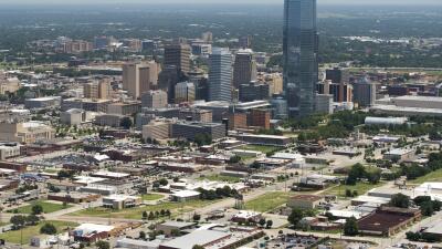 Oklahoma, desde el aire
