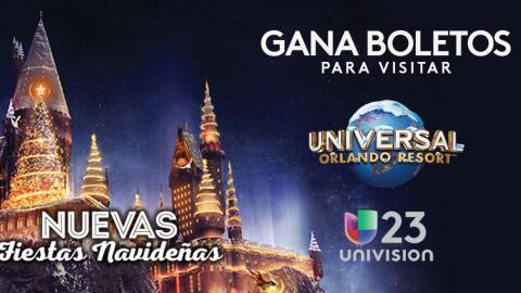 Gana boletos para visitar Universal Orlando Resort