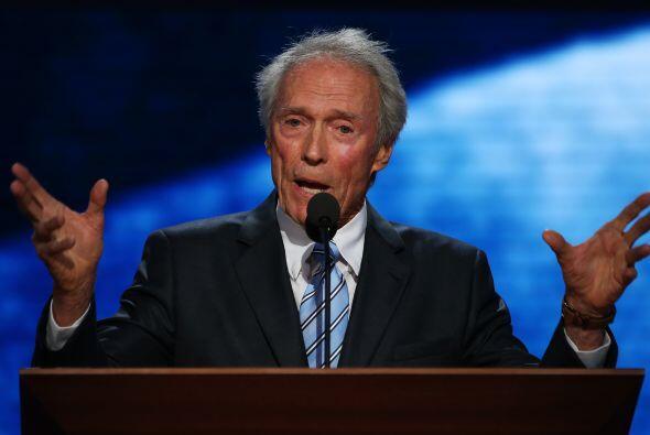 Clint Eastwood se convirtió en la estrella de Twitter luego de su partic...