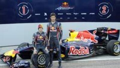 Red Bull presentó el nuevo RB7 con el que buscará defender su título. 79...