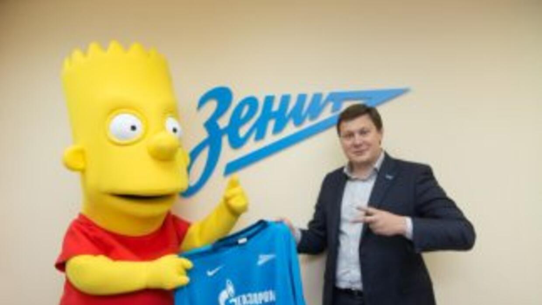 Bart ya fue presentado con el Zenit.