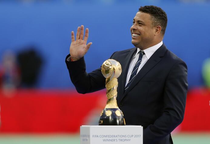 Grandes leyendas del fútbol en la final de la Confederaciones 20170702_4...