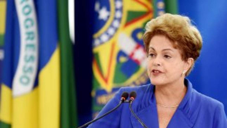La presidente de Brasil, Dilma Rousseff anunció medidas anticorrupción.