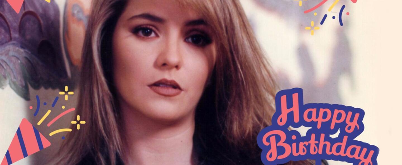 Daniela Castro celebra su cumpleaños