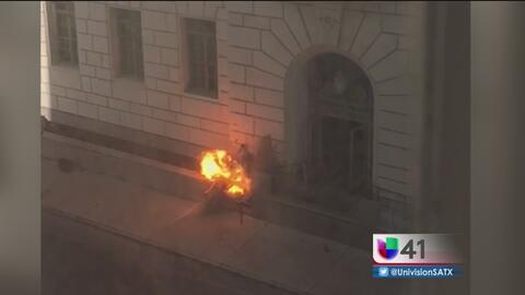Paquete sospechoso provoca miedo en el centro de San Antonio