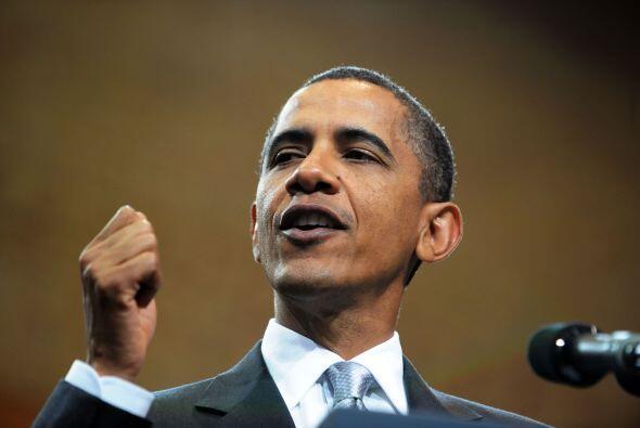 El presidente Barack Obama está satisfecho de que Estados Unidos...