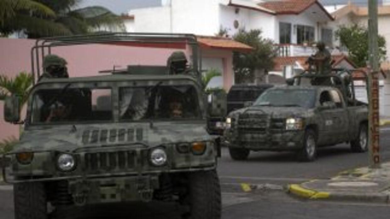 Las autoridades federales han incrementado la presencia militar y polici...