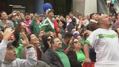 Así vivieron los mexicanos de Los Ángeles la histórica victoria de su selección ante Alemania