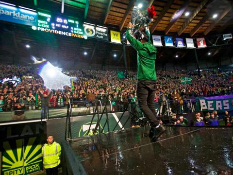 Recepción de Portland Timbers en el estadio Providence Park