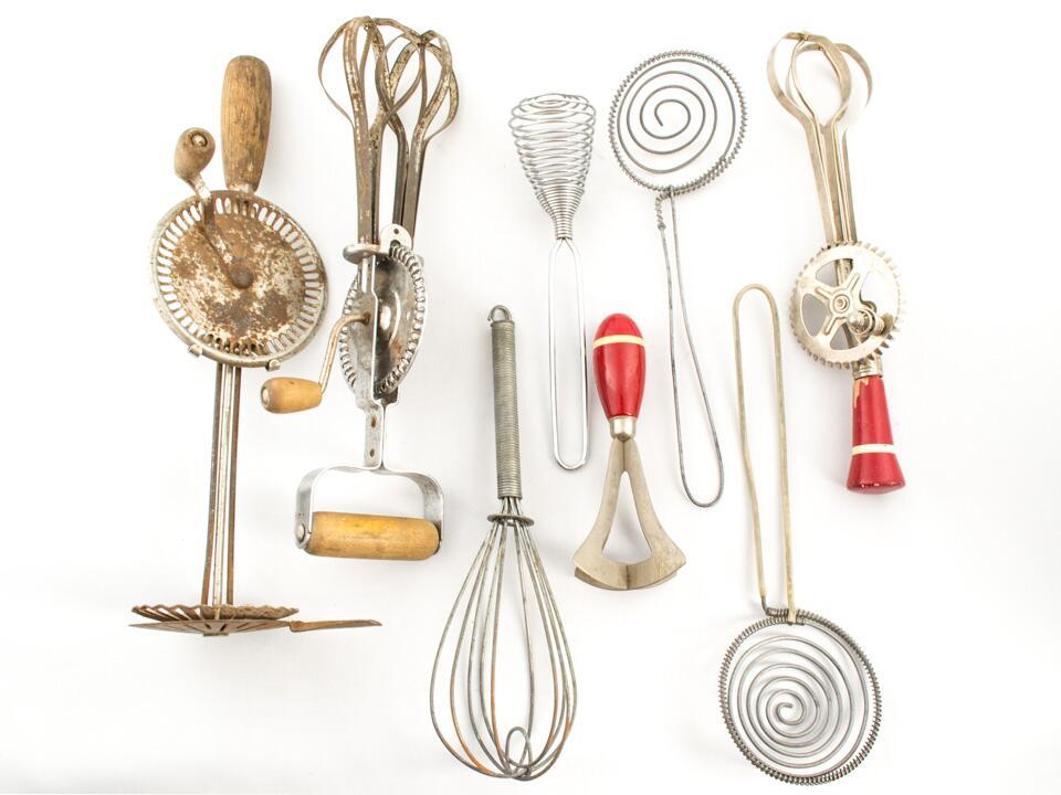 As han cambiado los utensilios de cocina a trav s de los for Utensilios de cocina para zurdos