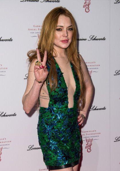 Lindsay Lohan ha llegado a los 28 años, suceso que algunos cre&ia...