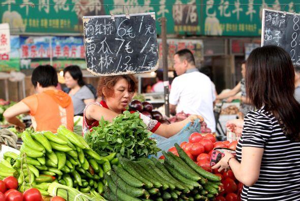 """- El aumento en los alimentos es la principal preocupación - China """"sigu..."""
