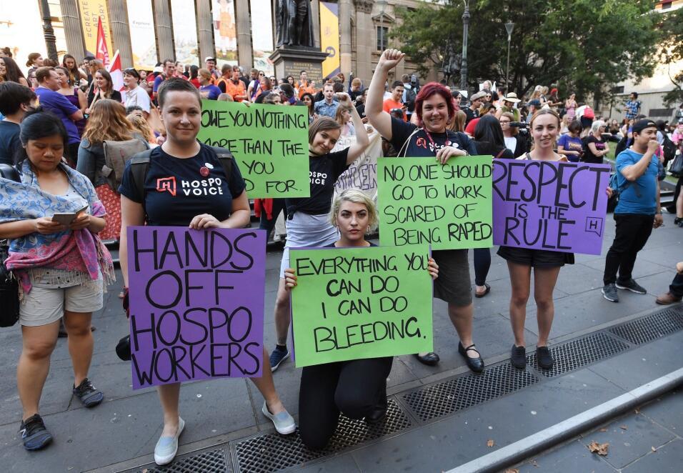 Por sus derechos y por la despenalización del aborto: así marcharon las...