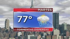 Alerta de tormenta y disminución del calor para este martes en Nueva York