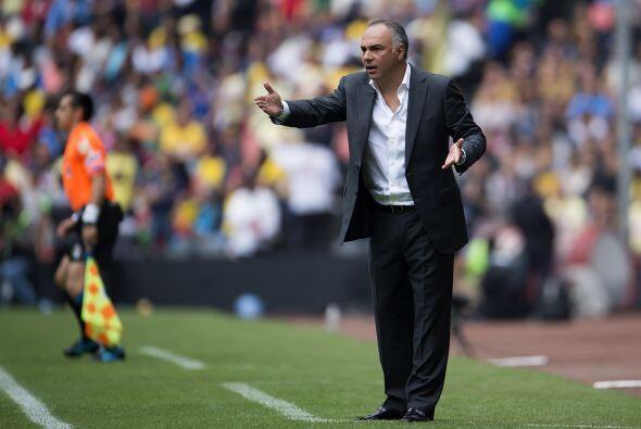 La última vez que Guillermo Vázquez, técnico de Pumas, enfrentó al Améri...