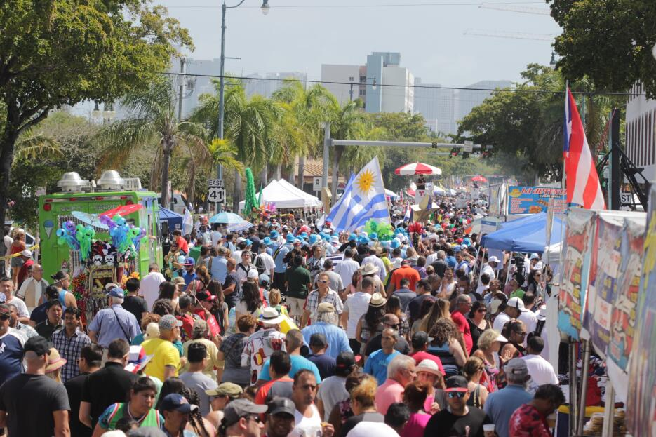 El Festival de la Calle Ocho 2016 estuvo dominada por el sabor de la com...