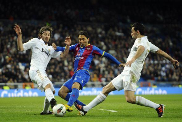 Real Madrid se encontró ante la posibilidad de sentenciar la Liga...