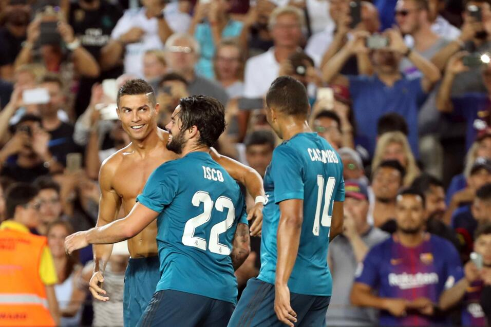 Polémica arbitral y Cristiano expulsado, pero Real Madrid gana 3-1 al Ba...