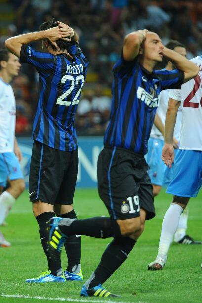 Los del Inter no lo podían creer, perdían de local ante un rival inferior.
