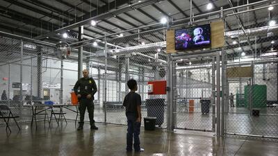 Centro de detención en Texas