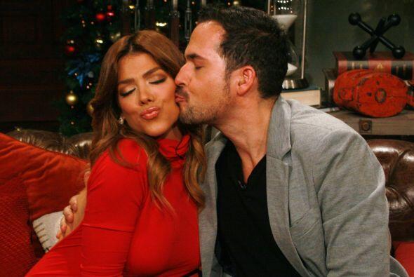¿Qué tal este beso tan coqueto?