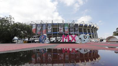 El Estadio Azteca se prepara para recibir a Texans y Raiders