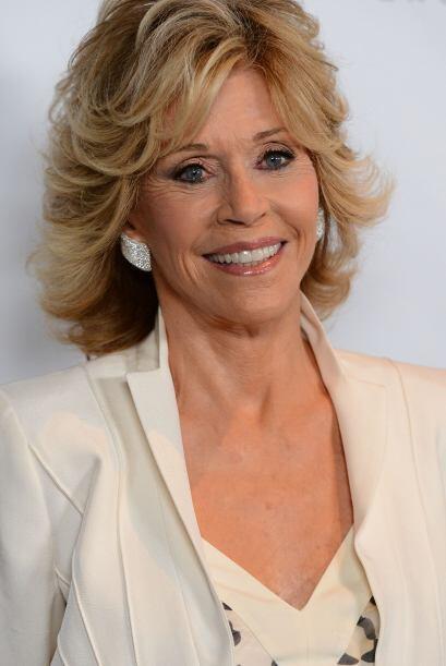 'Glamour' debería ser el segundo apellido de Jane Fonda. Esta mujer siem...