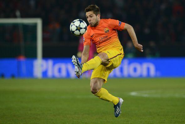 Jordi Alba también volvió a la titularidad. El Barcelona estaba completo.