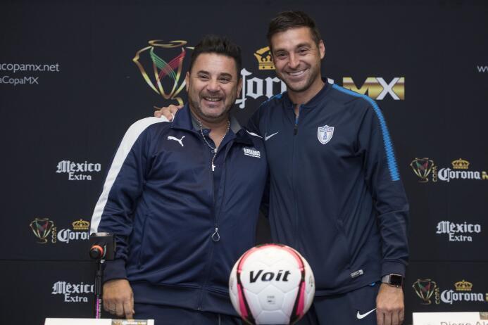 Mohamed y Alonso, por un título en la Copa MX que les permita sacudirse...