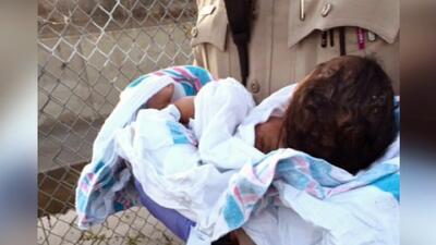 Recién nacida es encontrada sepultada viva en Los Angeles