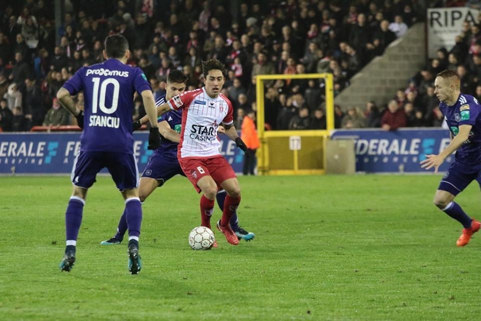 AS Eupen 4-[0] Mouscron: durísima derrota para el equipo de Omar Govea c...