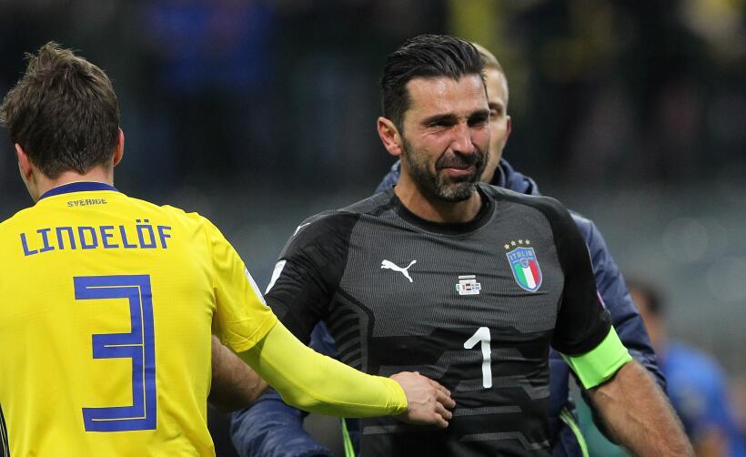 Las lágrimas de un grande: Buffon no alcanzará a 'La Tota'...
