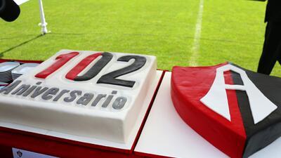 La fiesta de Atlas para conmemorar 102 años de historia en el fútbol mexicano