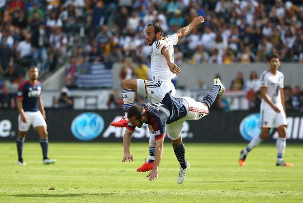 Landon Donovan jugó su último partido en la final entre Los Angeles Gala...