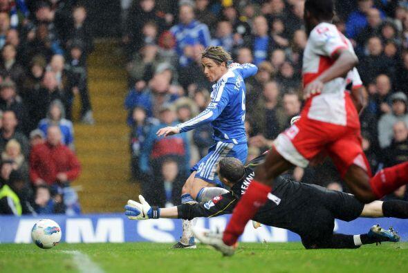 Y menos de Torres, que realmente estaba encendido.