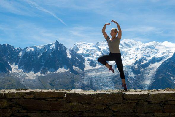 Las montañas francesas de Chamonix son uno de los puntos más altos de Eu...
