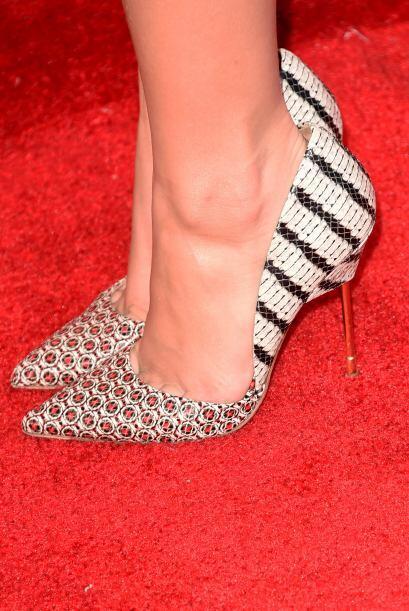 También puedes encontrar esta tendencia en calzado. Luce muy bien...